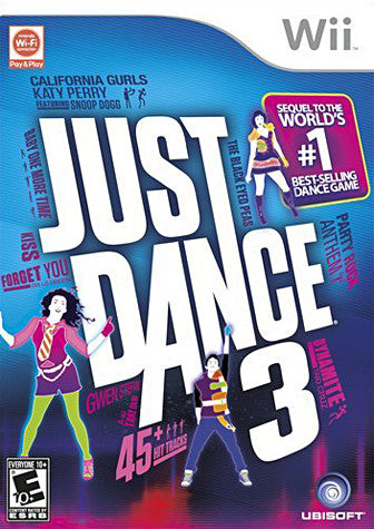 Just Dance 3 (NINTENDO WII) NINTENDO WII Game
