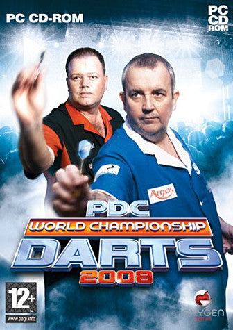 PDC World Championship Darts 2008 (PC) PC Game