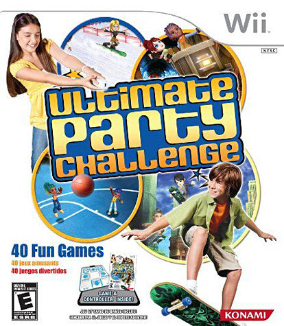 Ultimate Party Challenge with Dance Pad Bundle (Includes Mat) (NINTENDO WII) NINTENDO WII Game