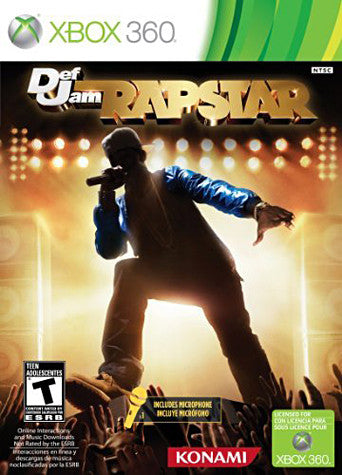 Def Jam Rapstar Bundle (Includes Microphone) (XBOX360) XBOX360 Game