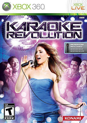 Karaoke Revolution Bundle (Includes Microphone) (XBOX360) XBOX360 Game
