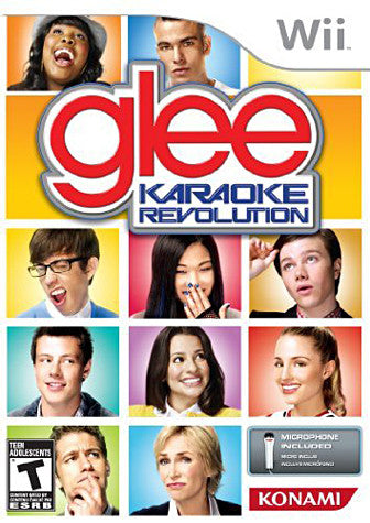 Karaoke Revolution Glee Bundle (Includes Microphone) (NINTENDO WII) NINTENDO WII Game