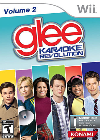 Karaoke Revolution Glee Volume 2 Bundle (Includes Microphone) (NINTENDO WII) NINTENDO WII Game