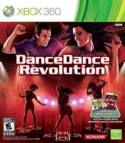Dance Dance Revolution Bundle (Includes Mat) (XBOX360) (USED) XBOX360 Game