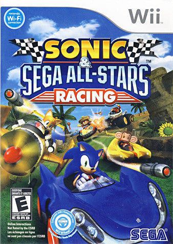 Sonic And Sega All-Stars Racing (NINTENDO WII) NINTENDO WII Game