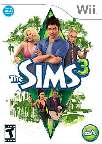 The Sims 3 (NINTENDO WII) (USED) NINTENDO WII Game