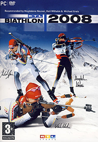 RTL Biathlon 2008 (European) (PC) PC Game