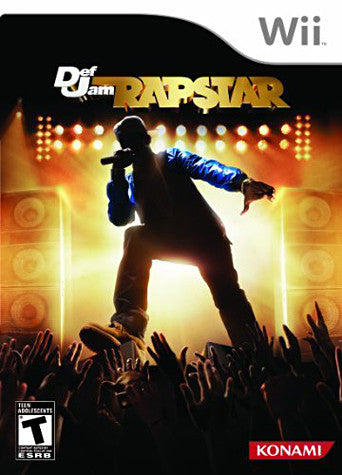 Def Jam Rapstar (Game Only) (Bilingual Cover) (NINTENDO WII) NINTENDO WII Game