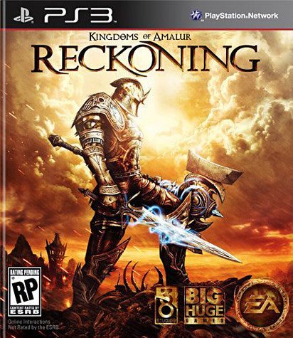 Kingdoms of Amalur - Reckoning (PLAYSTATION3) PLAYSTATION3 Game