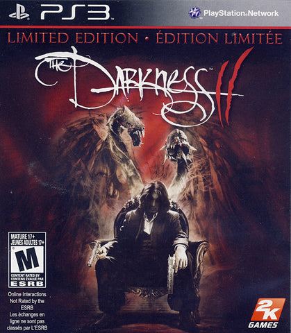 The Darkness II (2) - Limited Edition (Bilingual Cover) (PLAYSTATION3) PLAYSTATION3 Game