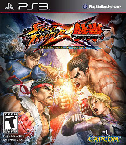 Street Fighter X Tekken (PLAYSTATION3) PLAYSTATION3 Game