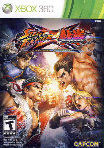 Street Fighter X Tekken (Bilingual Cover) (XBOX360) XBOX360 Game