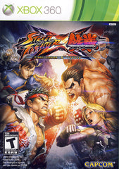 Street Fighter X Tekken (Bilingual Cover) (XBOX360)