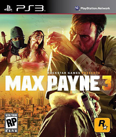 Max Payne 3 (Bilingual Cover) (PLAYSTATION3) PLAYSTATION3 Game