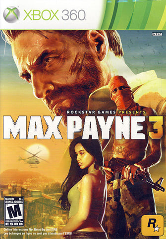 Max Payne 3 (Bilingual Cover) (XBOX360) XBOX360 Game