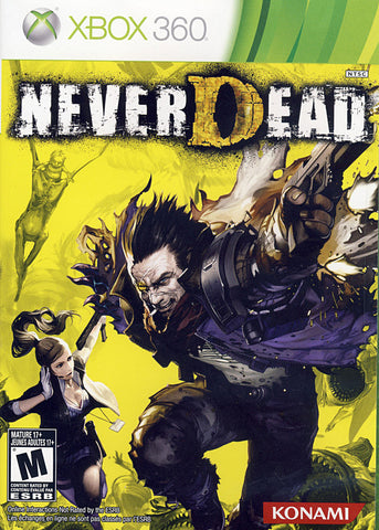 NeverDead (Trilingual Cover) (XBOX360) XBOX360 Game