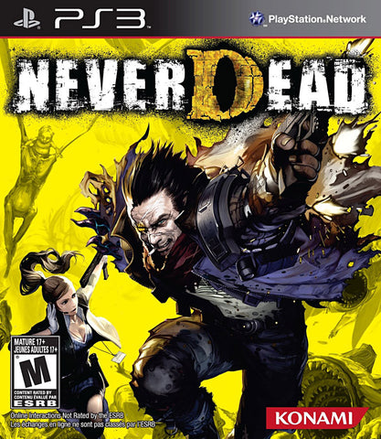 NeverDead (Trilingual Cover) (PLAYSTATION3) PLAYSTATION3 Game