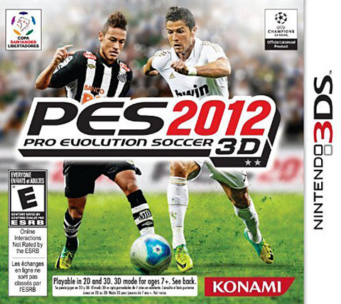 Pro Evolution Soccer 2012 (Trilingual Cover) (3DS) 3DS Game