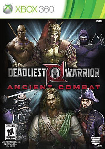 Deadliest Warrior - Ancient Combat (XBOX360) (USED) XBOX360 Game