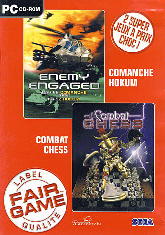 Comanche Hokum & Combat Chess (French Version Only) (PC) PC Game