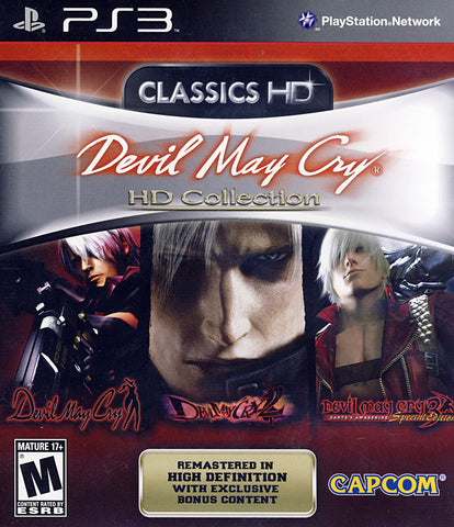 Devil May Cry HD Collection (PLAYSTATION3) PLAYSTATION3 Game