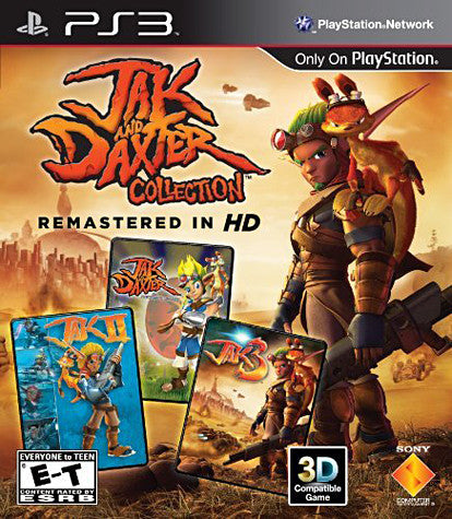 Jak & Daxter Collection Remastered In HD (PLAYSTATION3) PLAYSTATION3 Game