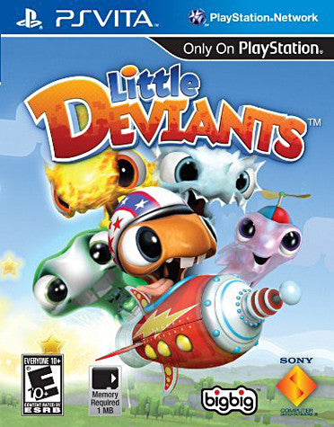 Little Deviants (PS VITA) PS VITA Game