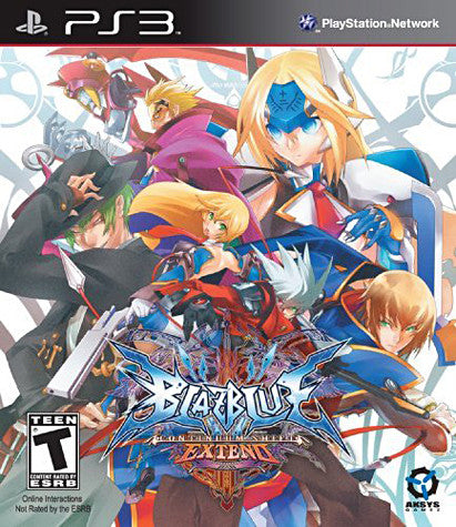 BlazBlue - Continuum Shift Extend (PLAYSTATION3) PLAYSTATION3 Game