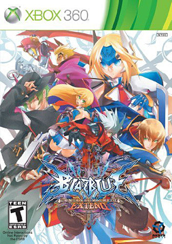 BlazBlue - Continuum Shift Extend (XBOX360) XBOX360 Game