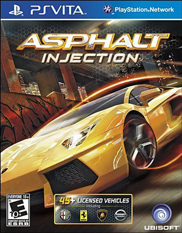 Asphalt - Injection (PS VITA) PS VITA Game