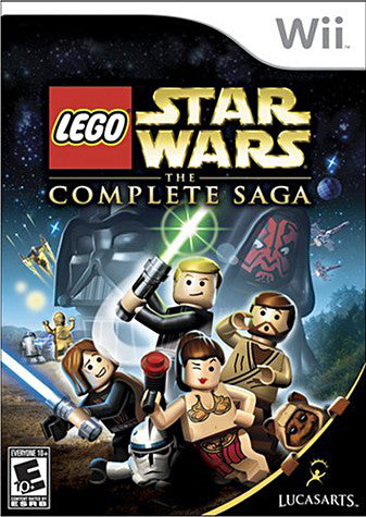 Lego Star Wars - The Complete Saga (NINTENDO WII) NINTENDO WII Game