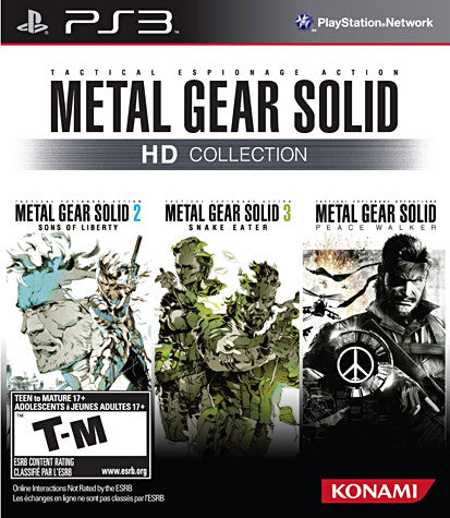 Metal Gear Solid HD Collection (PLAYSTATION3) PLAYSTATION3 Game