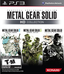 Metal Gear Solid HD Collection (PLAYSTATION3)