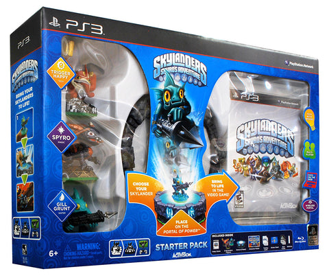 Skylanders Spyro's Adventure Starter Pack (PLAYSTATION3) PLAYSTATION3 Game