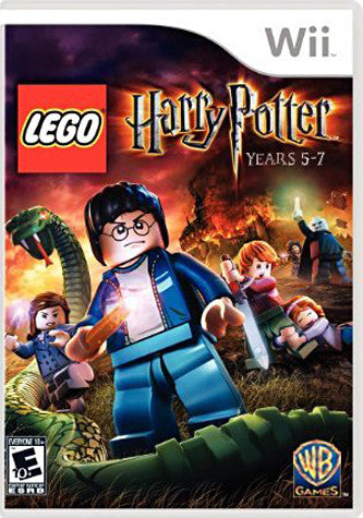 LEGO Harry Potter - Years 5-7 (NINTENDO WII) NINTENDO WII Game