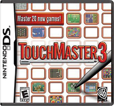 Touchmaster 3 (Bilingual Cover) (DS) DS Game