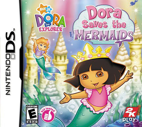 Dora the Explorer - Dora Saves the Mermaids (DS) DS Game