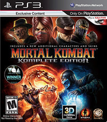 Mortal Kombat - Komplete Edition (PLAYSTATION3)