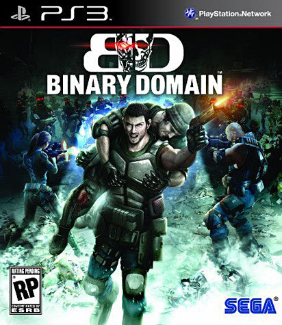 Binary Domain (PLAYSTATION3) PLAYSTATION3 Game