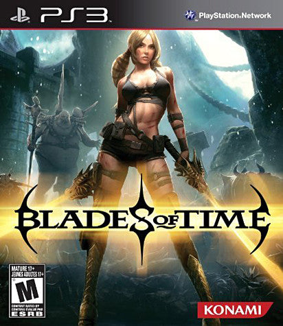 Blades of Time (Trilingual Cover) (PLAYSTATION3) PLAYSTATION3 Game