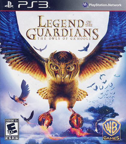 Legend of the Guardians - The Owls of Ga'Hoole (PLAYSTATION3) PLAYSTATION3 Game