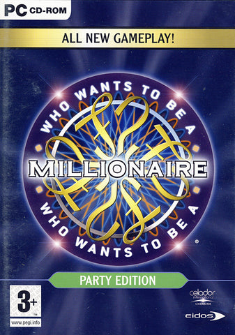 Who Wants to be a Millionaire Party Edition (European) (PC) PC Game