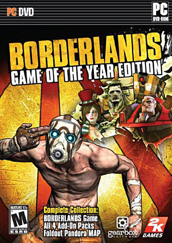 Borderlands - Game of the Year Edition (PC) PC Game