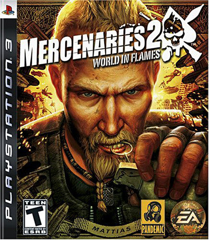 Mercenaries 2 - World in Flames (PLAYSTATION3) PLAYSTATION3 Game