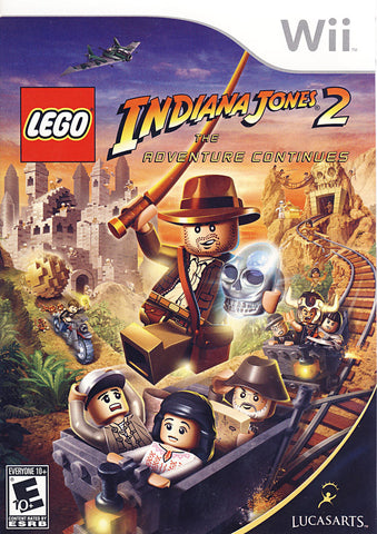 LEGO Indiana Jones 2 - The Adventure Continues (NINTENDO WII) NINTENDO WII Game