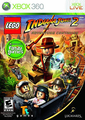 Lego Indiana Jones 2 - The Adventure Continues (XBOX360) XBOX360 Game