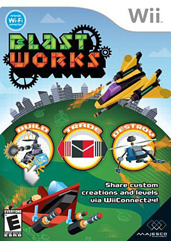 Blast Works - Build, Trade, Destroy (NINTENDO WII) NINTENDO WII Game