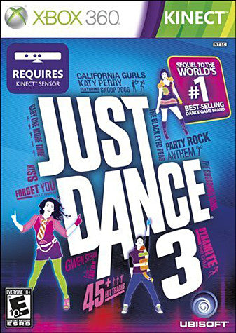Just Dance 3 (Kinect) (XBOX360) XBOX360 Game
