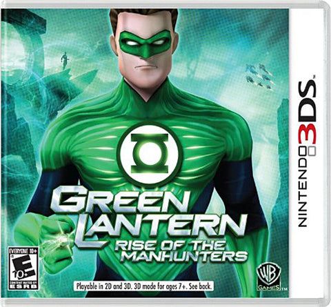 Green Lantern - Rise of the Manhunters (3DS) 3DS Game