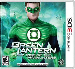 Green Lantern - Rise of the Manhunters (3DS)